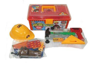 Детский набор инструментов в чемодане, 41 деталь