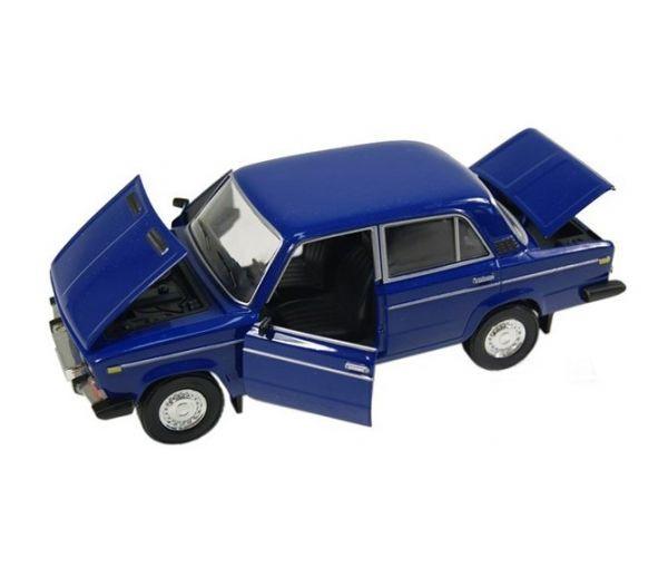 Моделька машины ВАЗ Автопром синяя