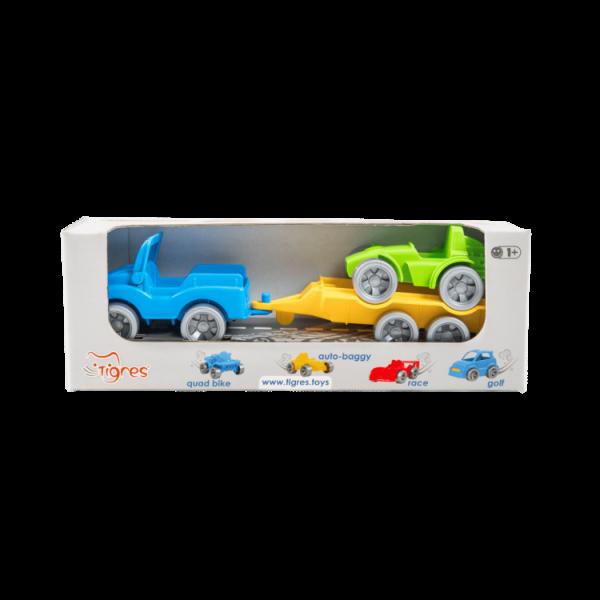 Детский игровой набор авто эвакуатор  «Kid cars Sport» джип и багги