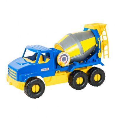 Игрушечная бетономешалка  «City Truck» с подвижными элементами