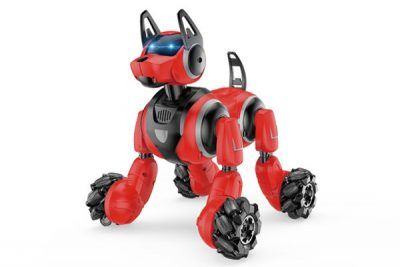 Интерактивная собака-робот на радиоуправлении Syrcar 666-800A со светом и звуком