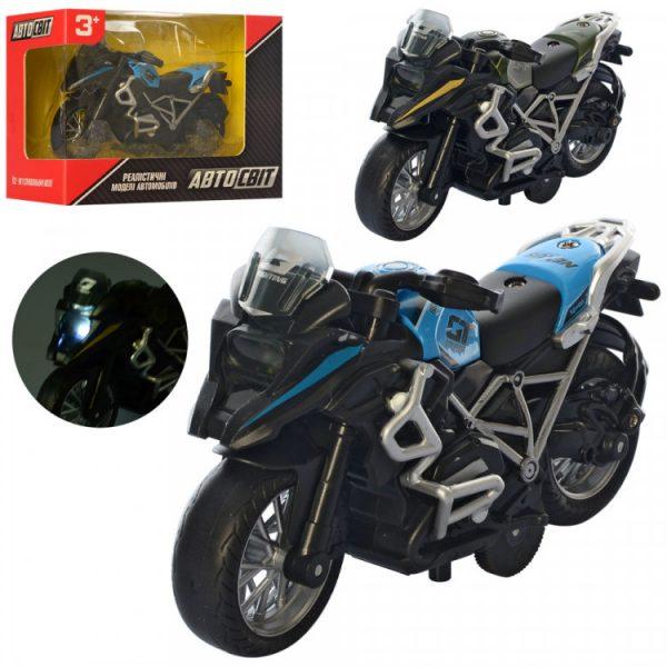 Игрушечный мотоцикл инерционный
