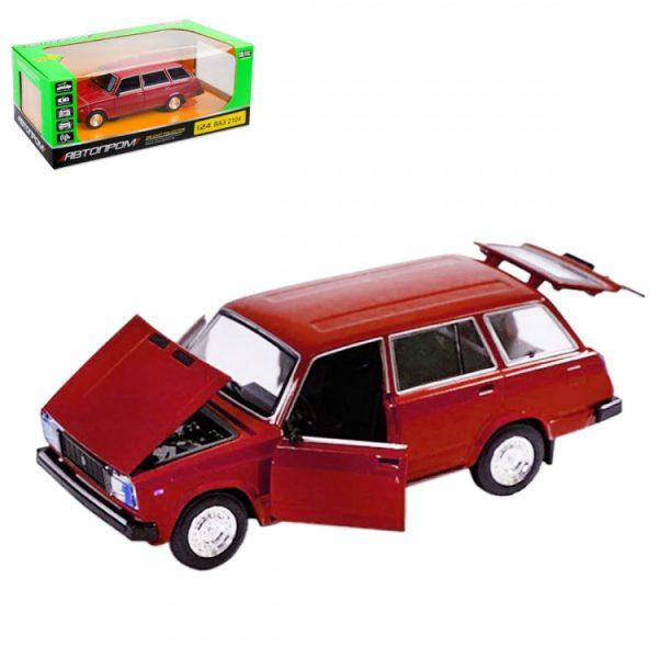 Коллекционная игрушечная машина «ВАЗ» инерционная красная