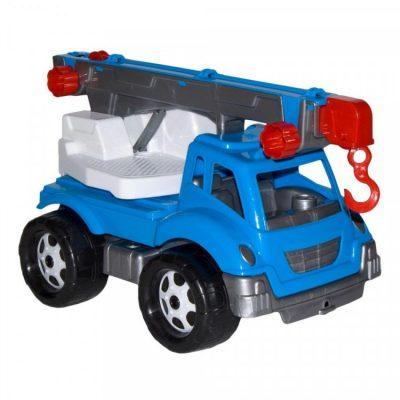 Детская машина  «Автокран» Синий