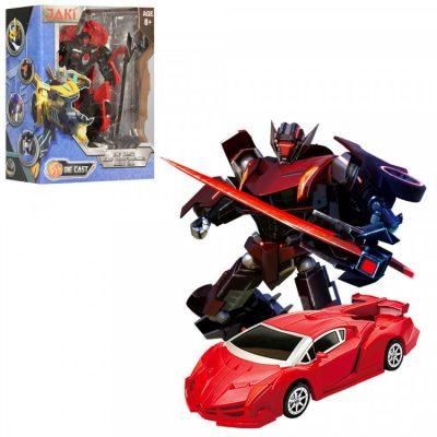 Детский трансформер «Машина+робот»