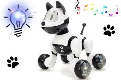 Интерактивная игрушка - робот-собака MG010 управление рукой