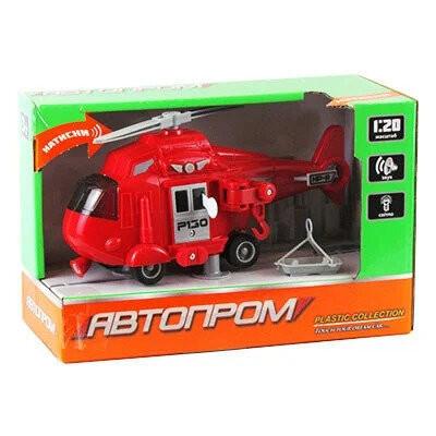 Игрушка Вертолет «Городские службы» красный