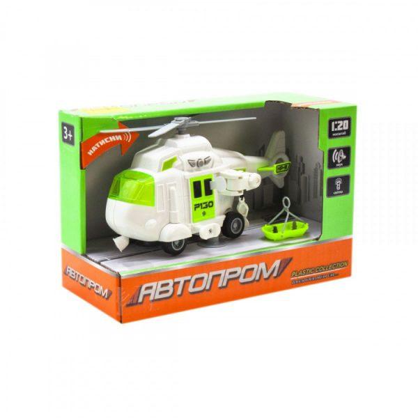 Игрушка Вертолет «Городские службы» белый