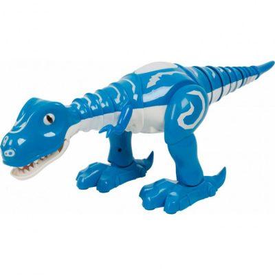 Интерактивный робот-динозавр 28301 со светом и музыкой (синий)