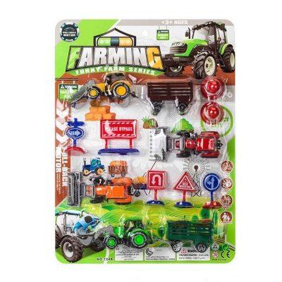 Детский игровой набор спецтехники «Ферма» с тракторами