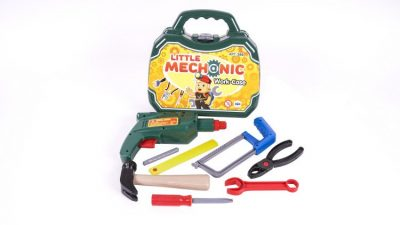 Игровой набор инструментов в чемодане «Механик»