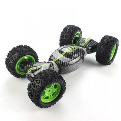 Трюковая машина Метр+ (CV8818-80A) с резиновыми колесами (зеленый)
