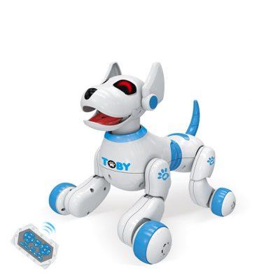 Интерактивная собака-робот TENFUN 8205 на радиоуправлении реагирует на руку