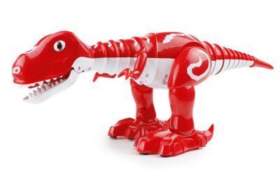 Интерактивный робот-динозавр 28301 со светом и музыкой (красный)