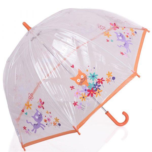 Зонт-трость детский механический облегченный ZEST (Z51510-15)