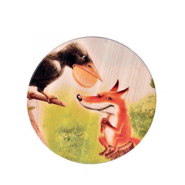 Доска для сыра «Ворона и Лиса»