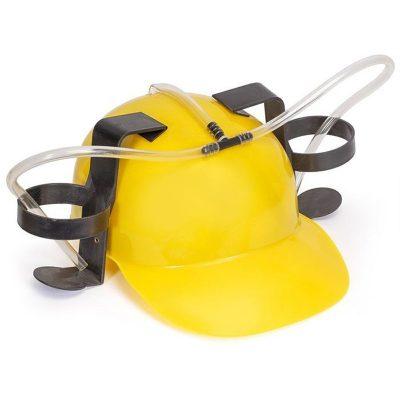 Шлем любителя пива «кепка пивная» желтый