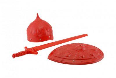 Детский игровой набор рыцаря «Богатырь» со щитом и шлемом