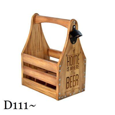 Подарочный ящик для пива L «Home is where the beer»