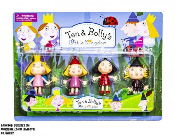 Игровой набор фигурок «Ben & Holly» 4 фигурки в наборе