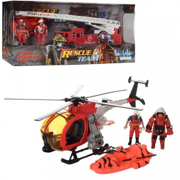 Детский игровой набор пожарных с фигурками