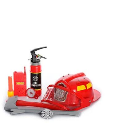 Детский игровой набор пожарного с огнетушителем