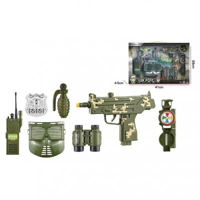 Детский игровой набор Военного с маской и УЗИ