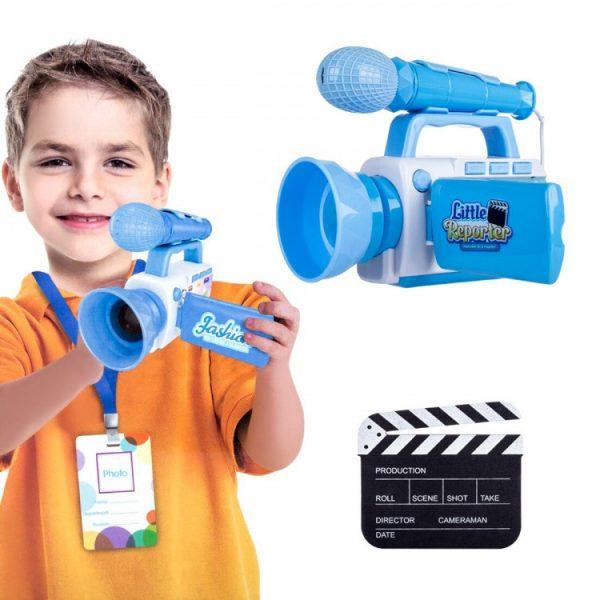 Игровой набор «Юный репортер» с камерой