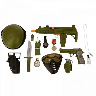 Детский игровой военный набор с маской