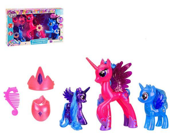 Игрушка пони «Розовая» со звуковыми эффектами