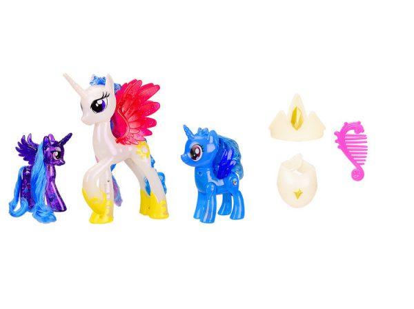 Игрушка пони «Белая» со звуковыми эффектами