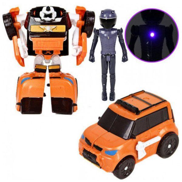 Трансформер со световыми эффектами «Bikerbot Suv»