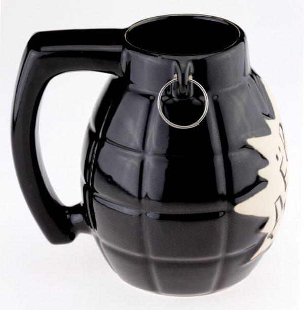 Кружка пивная «Дерни!» большая, черная