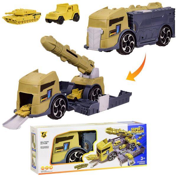 Игровой набор «Трейлер-Военная база» с баллистической ракетой