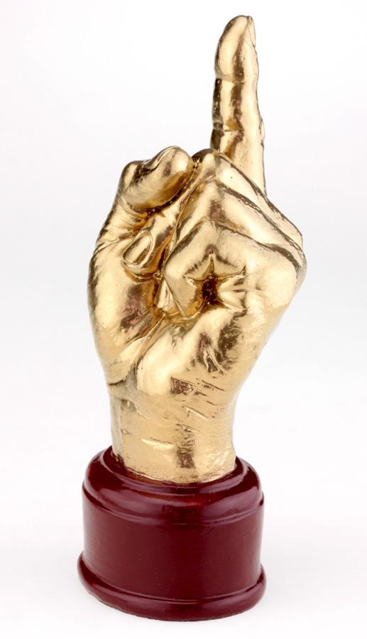 Кубок Рука «Указ» золотой