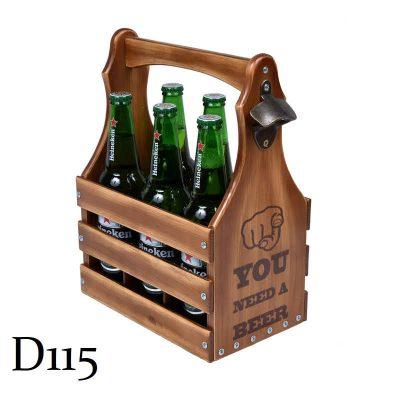 Подарочный ящик для пива L «You need a beer»