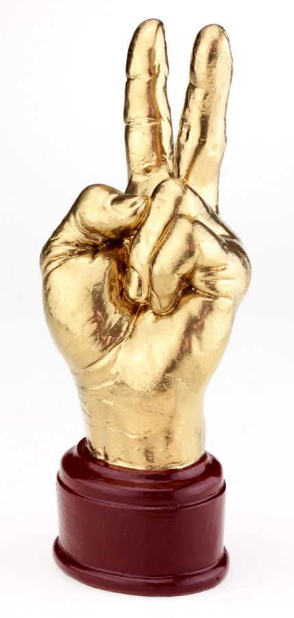 Кубок Рука «Победа» золотой