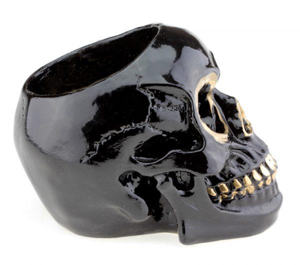 Череп ваза «Черный принц»
