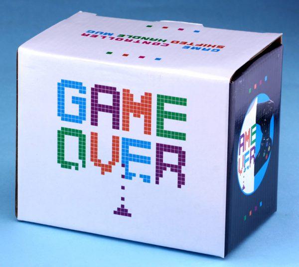 Кружка «Game over» белая