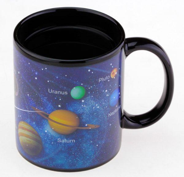 Чашка с терморисунком «Парад Планет» Solar System Chameleon