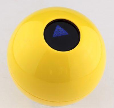 Шар для принятия решений большой, 11 см, желтый