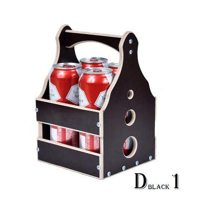 Подарочный ящик для пива черный