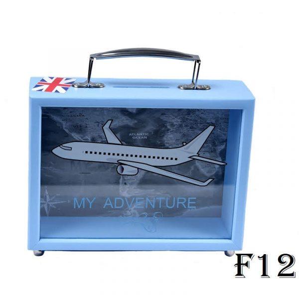 Копилка чемодан  «на путешествия»