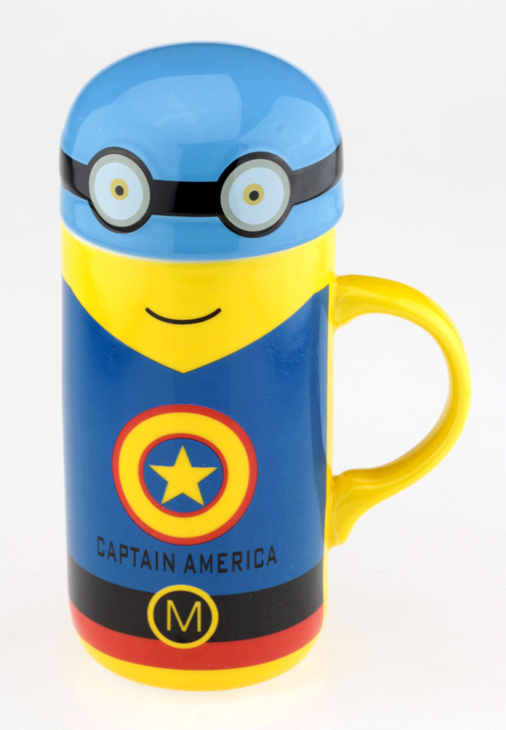 Кружка «Мультик Капитан Америка»