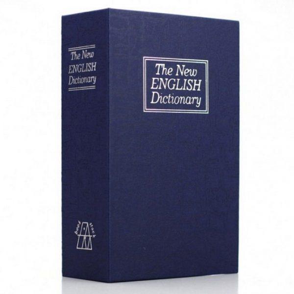 Книга - сейф «Словарь» 18 см, цвет синий