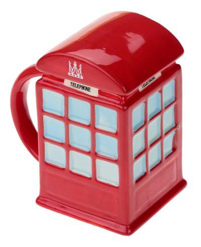 Кружка «London» красная телефонная будка