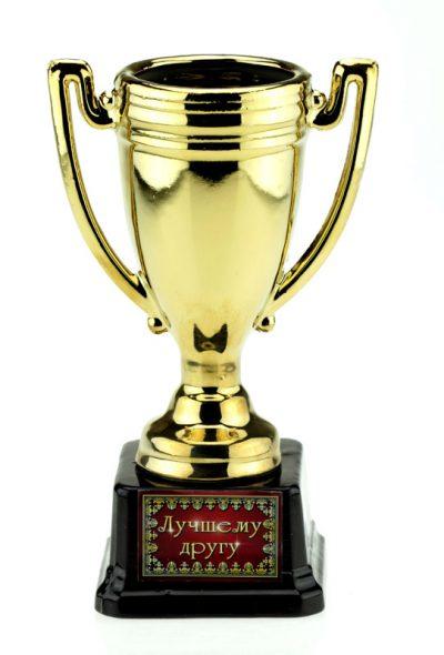 Кубок керамика «Лучшему другу» с чашей