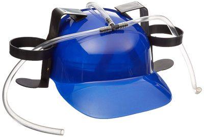 Шлем любителя пива «кепка пивная» синий
