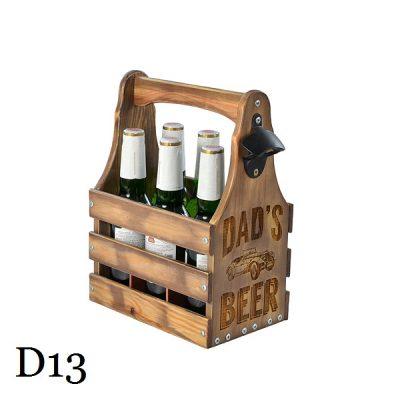 Подарочный ящик для пива M «Dad's beer»