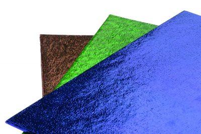 Фольга для упаковки подарков 50*70 см, уп 50 шт, синяя